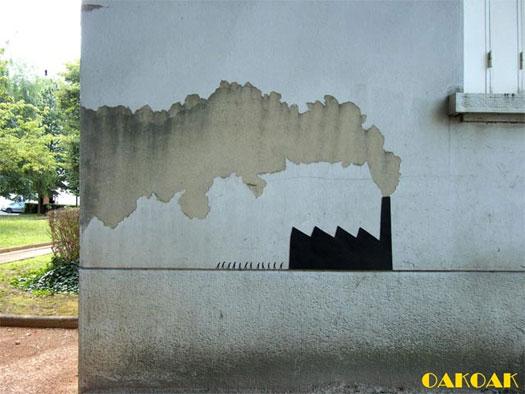 Street art in Francia