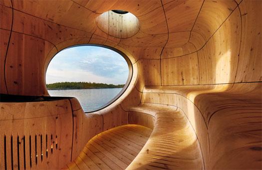La sauna in grotta