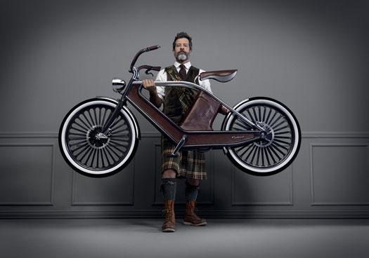 Cykno la bici elettrica