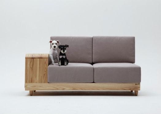 Un divano da cani