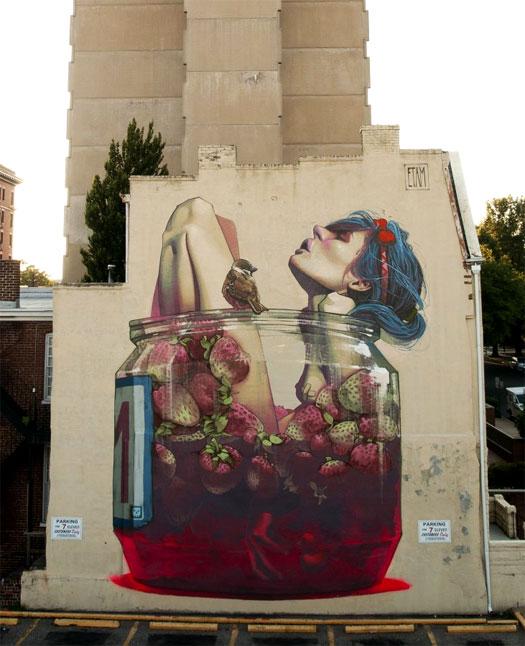 Etam Cru street art