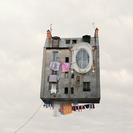 Fantastiche abitazioni sospese
