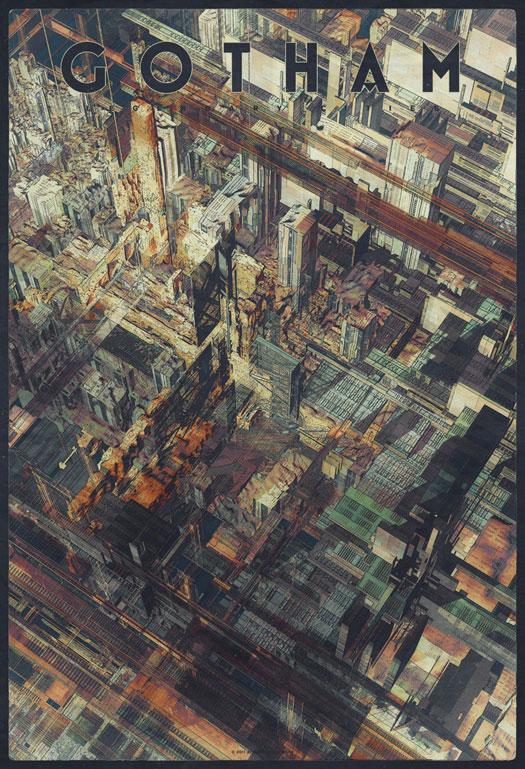 Leggendarie illustrazioni urbane