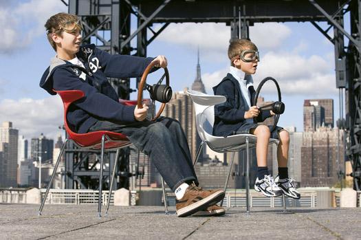 Una sedia innovativa