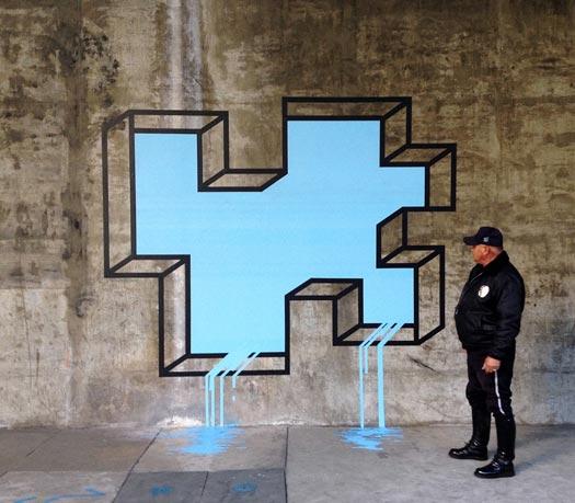 Geometrica Street Art