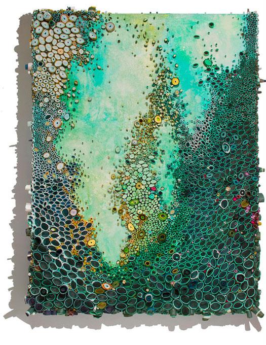 Barriere coralline opere di Amy Eisenfeld Genser