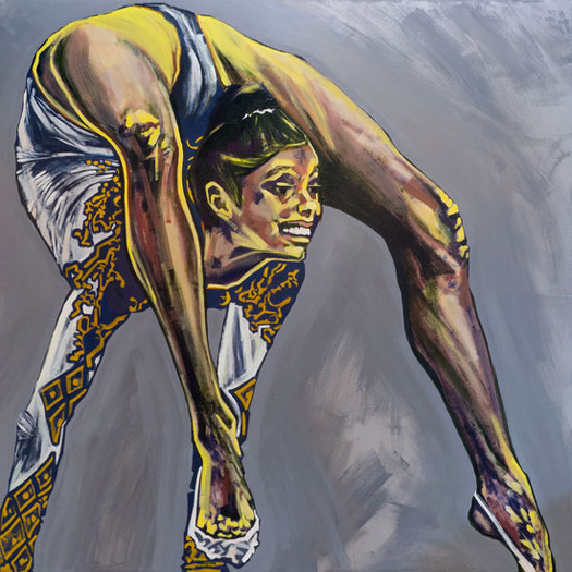 Anna Navasardian  - Alina, 2013 acrilico su tela