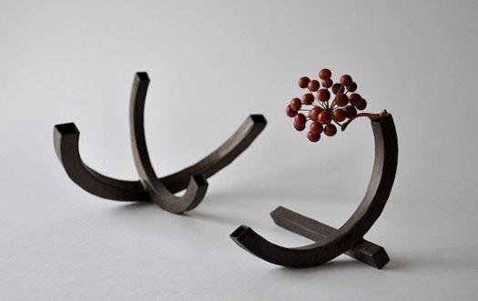 Sculture ceramiche di Keiichi Tanaka