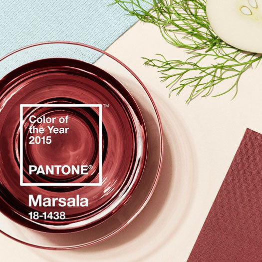 PANTONE Marsala colore del 2015