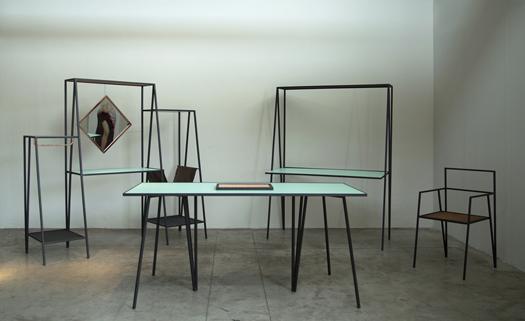 Arredo design minimalista collezione Alpina