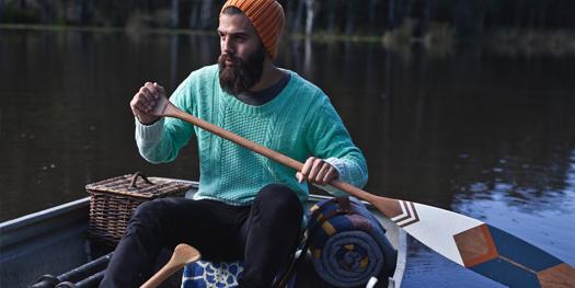 canoe pagaie Natasha Wittke, Norquay Co, Abitibi Co