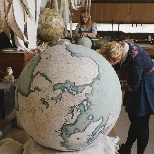 Bellerby & Co, mappamondi, globi artigianali