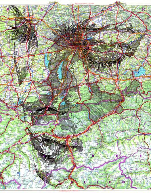 Ritratti topografici  di Ed Fairburn