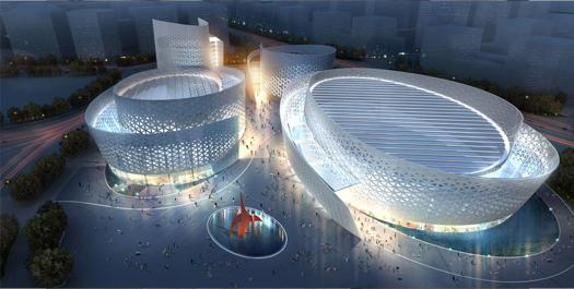 Centro culturale Chengdu Tianfu
