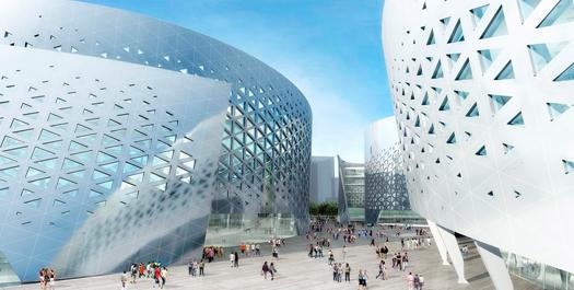 Centro culturale Chengdu Tianfu studio Fuksas