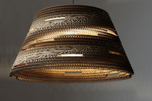 Lampada In Cartone 01lamp : Lampade in cartone