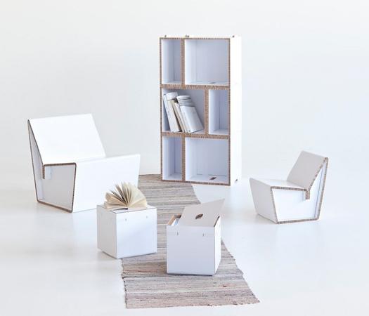 Sedia in cartone per bambini for Mobili per bambini di design