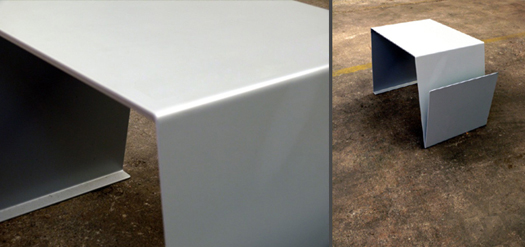 mobili in metallo