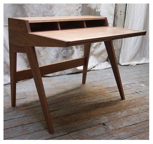 Scrivania in legno laura desk - Scrivanie legno design ...